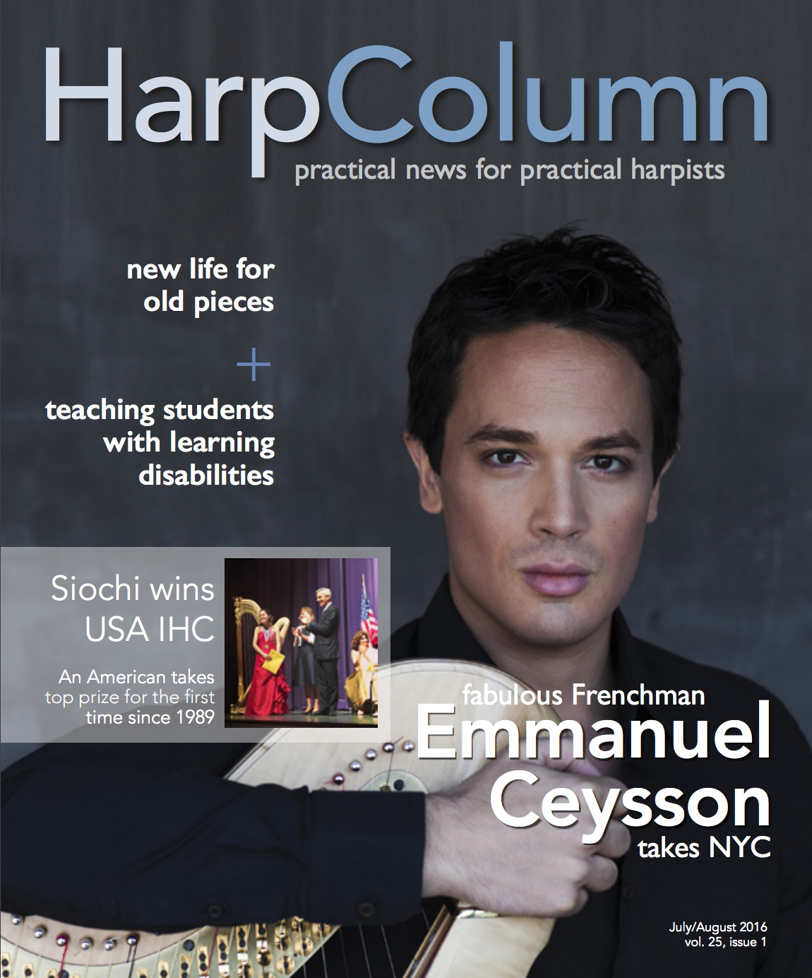 Harp Column July-August 2016 Cover