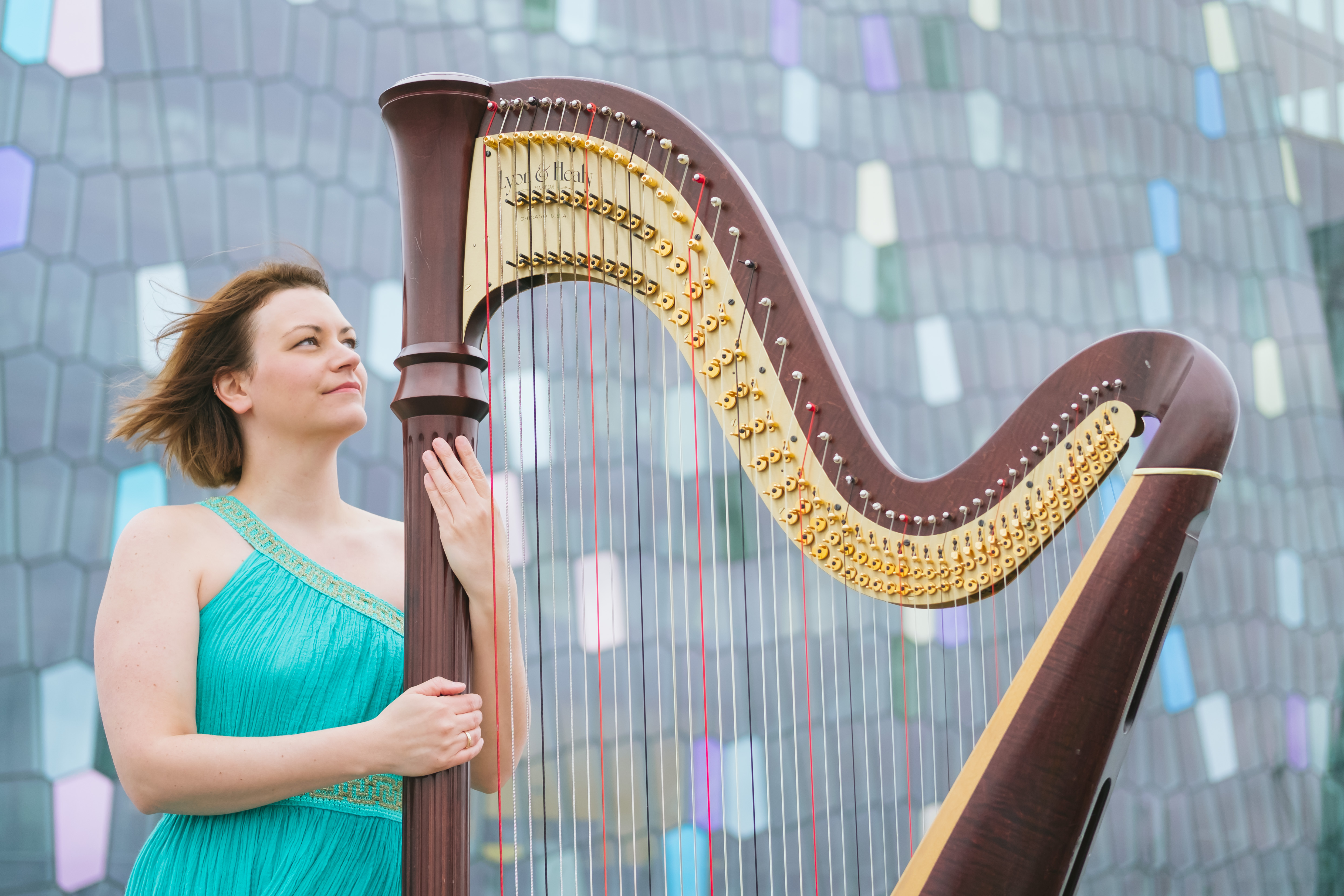 Q And A With Katie Buckley Harp Column