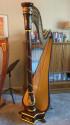Rare Salvi Erard Tournier Concert Grand Pedal Harp